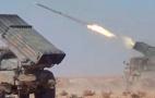 Image - Ejército sirio lanzan un fuerte ataque con misiles contra un grupo terrorista en el norte de Hama. Nueva matanza de EEUU en Deir Ezzor