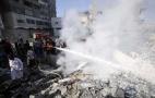 Image - Mientras EEUU presiona a la Haya para evitar la acusación a Israel por crímenes de guerra, sus bombardeos causan 21 muertos y 120 heridos más en Gaza
