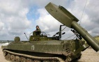 """Image - El Ejército sirio utiliza desminadores rusos UR-77 """"Meteorit"""" en Yobar"""